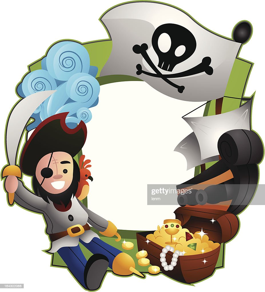Pirate Frame Vector Art | Getty Images