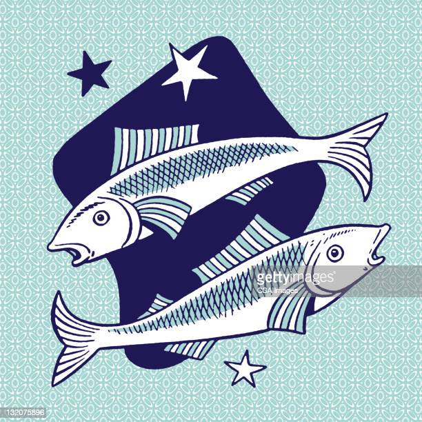 Pisces Stock Illustrations And Cartoons Getty Images