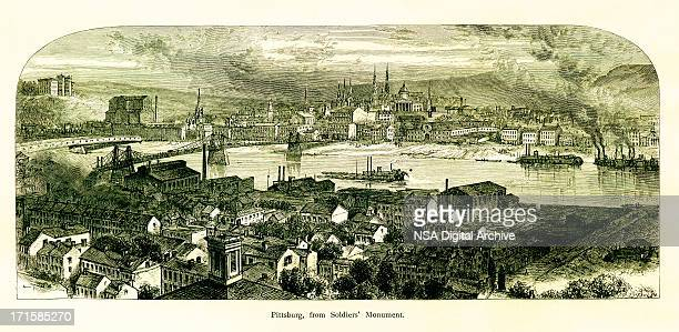 Pittsburgh, Pennsylvania | Historic American Illustrations