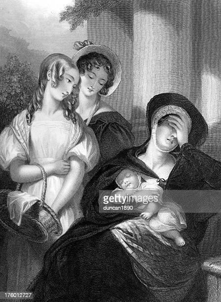pity ジェーンオースティンのスタイル - 1800~1809年点のイラスト素材/クリップアート素材/マンガ素材/アイコン素材