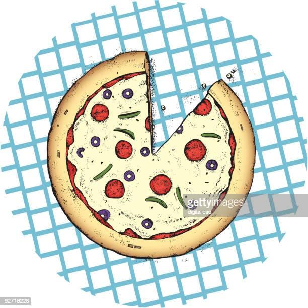 ピザパイ、テーブルクロス