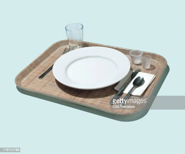 Place Setting on Tray