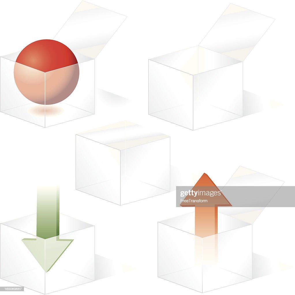 Plastic Box Icons