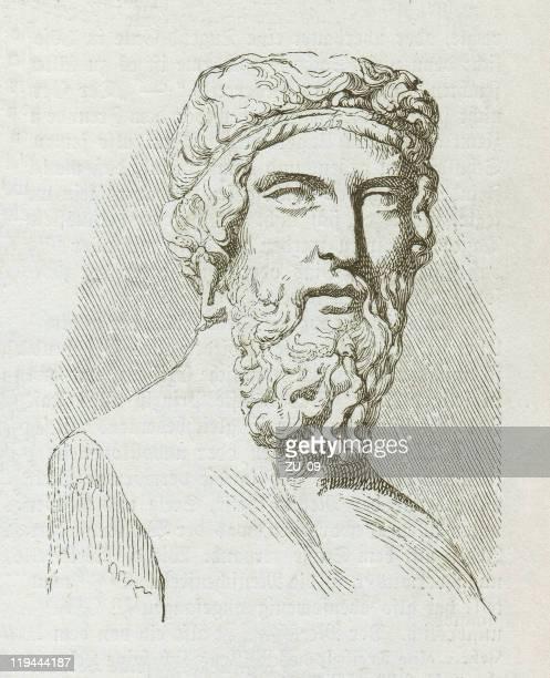 ilustraciones, imágenes clip art, dibujos animados e iconos de stock de plato (428/427-348/347 bc - filosofos griegos