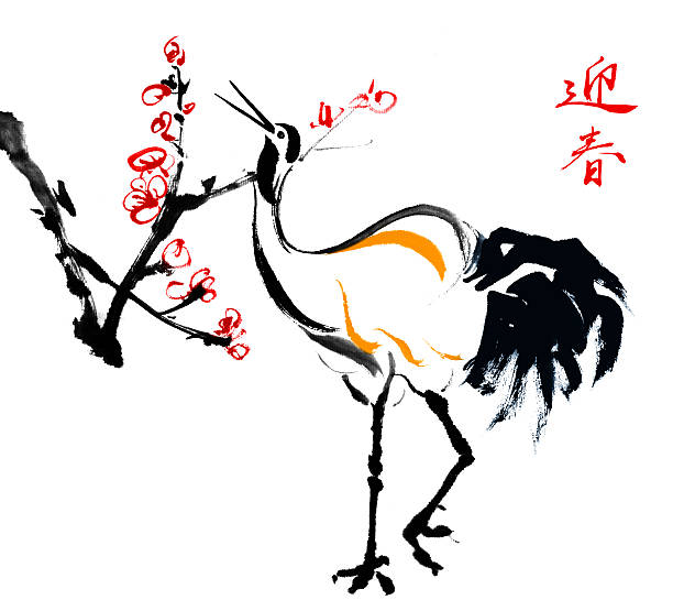Plum Blossom And Birds Wall Art