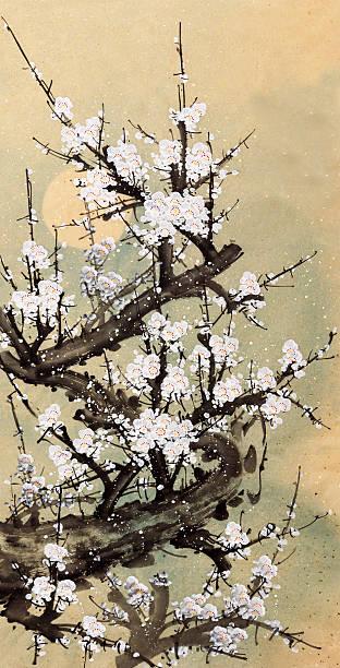 Plum Blossom Wall Art