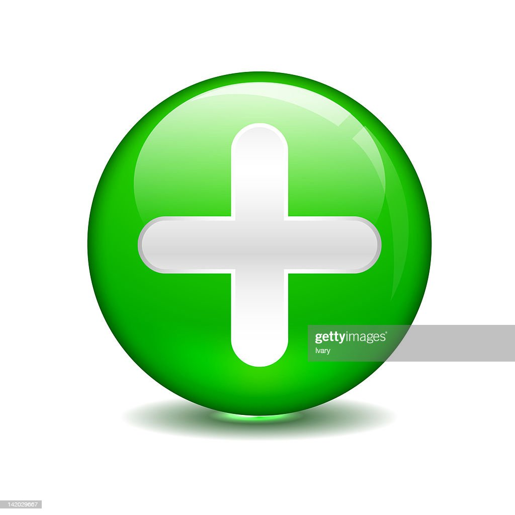 Plus sign in green circle stock illustration getty images plus sign in green circle stock illustration biocorpaavc Choice Image