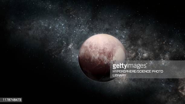 pluto, illustration - artistic product stock illustrations