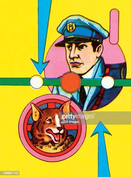 Policeman と K-9