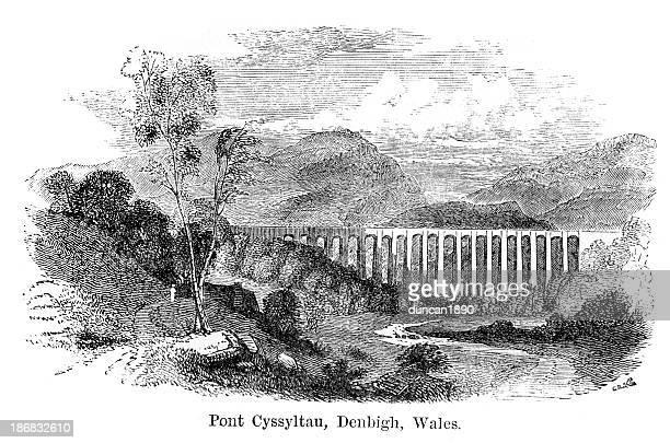 Acueducto Pontcysyllte, Denbigh, Gales
