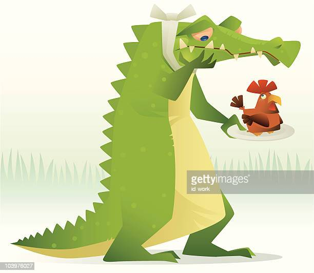 poor crocodile - toothache stock illustrations, clip art, cartoons, & icons