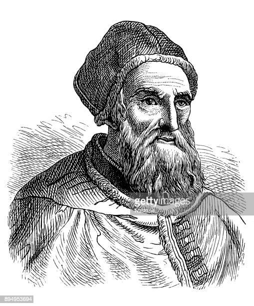 Pope Gregory XIII (Latin: Gregorius XIII; 7 January 1502 – 10 April 1585), born Ugo Boncompagni, was Pope of the Catholic Church from 13 May 1572 to his death in 1585