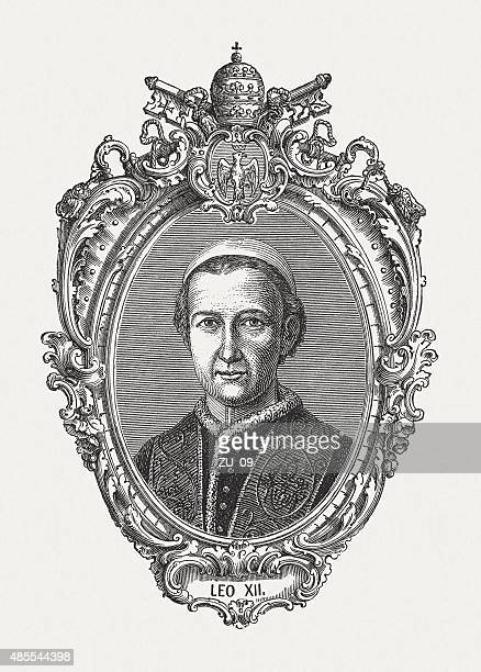 Pope Leo XII (1760 - 1829), published in 1878