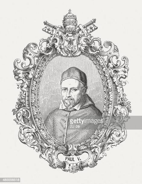 Pope Paul V (1552 - 1621), published in 1878