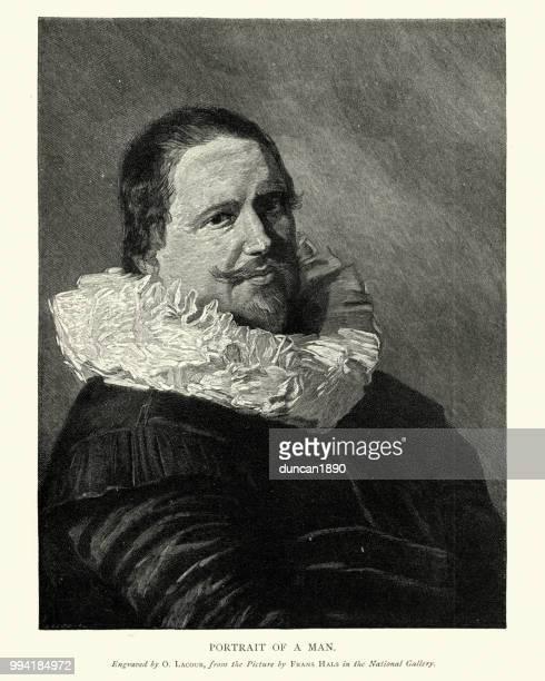 Portait of a man, by Frans Hals