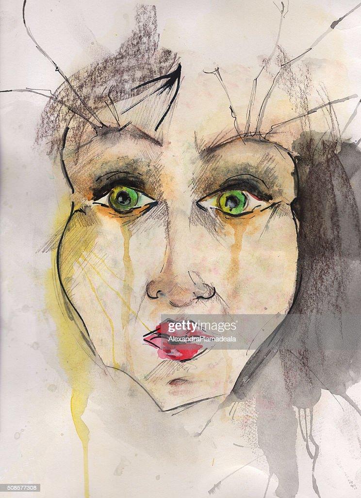 Illustration de portrait : Illustration