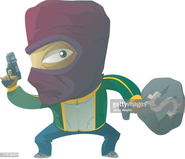 Portrait of a robber