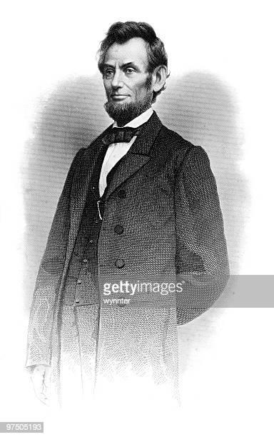 Retrato de Abraham Lincoln pé, 1864