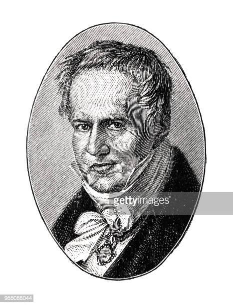 Retrato de Alexander von Humboldt, 1769-1859