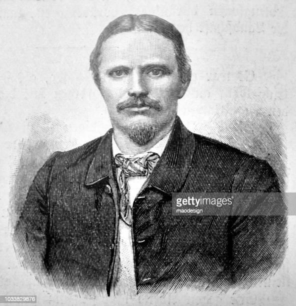 口ひげとヤギのひげ - 1895 成人男性の肖像画