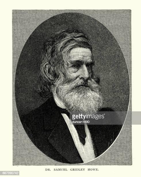 Portrait of Dr Samuel Gridley Howe