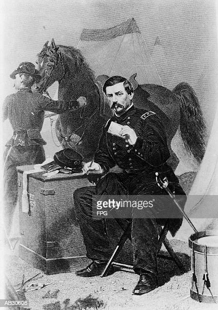 Portrait of General George McClellan