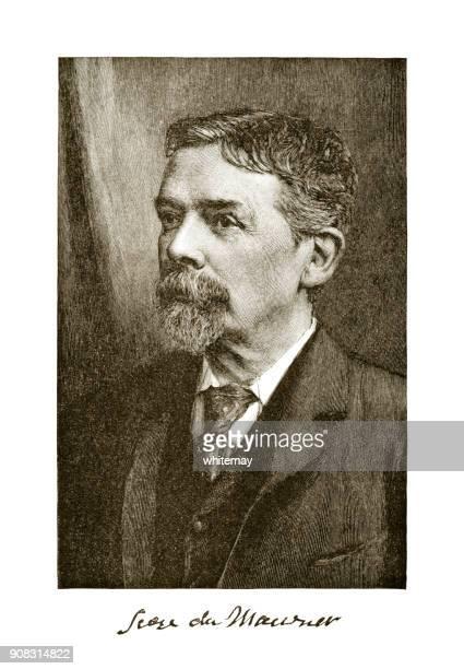 Portrait of George Du Maurier, Franco-British cartoonist and author