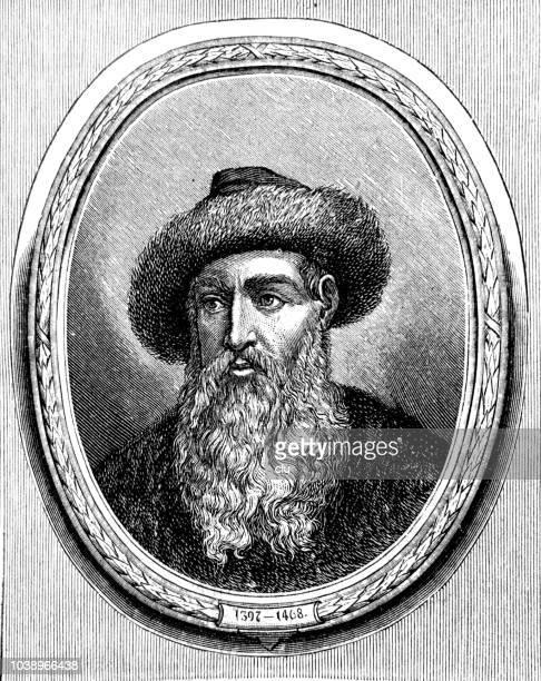 Johannes Gutenberg Stock Illustrations And Cartoons ...