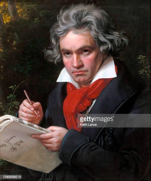 ルートヴィヒ・ヴァン・ベートーヴェンの肖像 - 首都点のイラスト素材/クリップアート素材/マンガ素材/アイコン素材