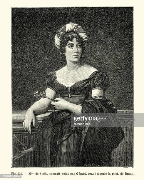 Portrait de Madame de Staël, écrivain Français