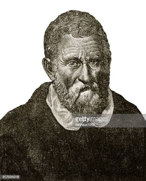 Portrait of Marco Polo Engraving, 1254-1324
