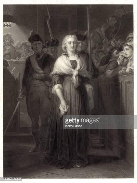 Portrait of Marie Antoinette at Her Trial, October 1793