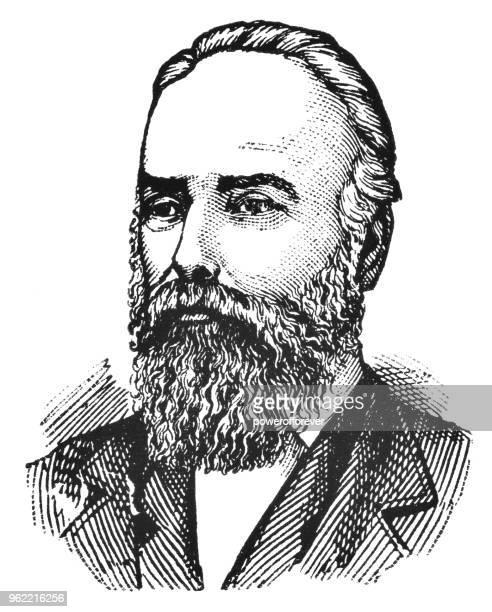 Portrait of Matthew Baillie Begbie - 19th Century