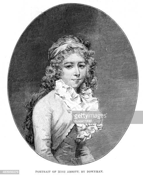 Portrait of Miss Abbott