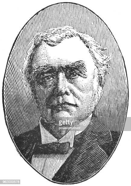 Portrait of Sir John Abbott, 3rd Prime Minister of Canada - 19th Century