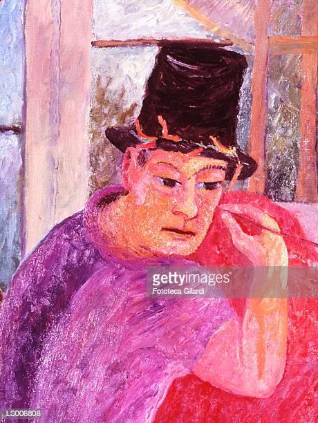 portrait of the painter's wife - fine art portrait stock illustrations, clip art, cartoons, & icons