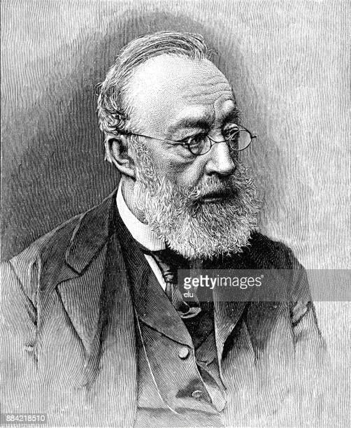 Portrait of the poet Gottfried Keller