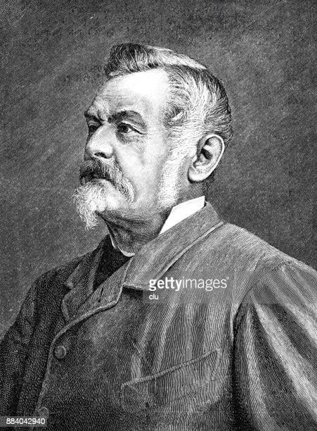 Portrait of the poet Wilhelm Jordan