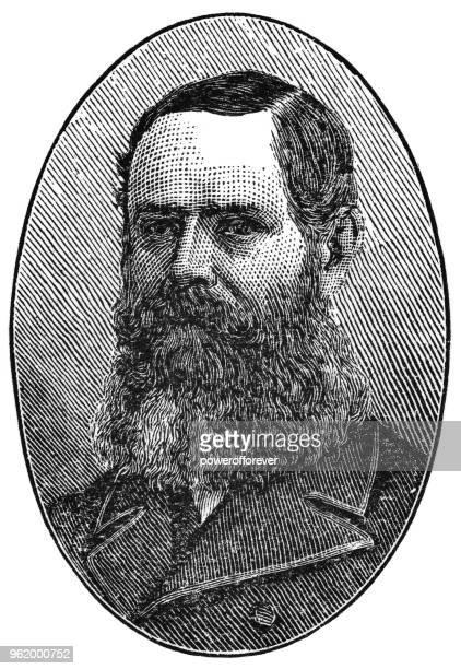 子爵のモンク、第 1 知事の一般的なカナダ - 19 世紀の肖像画 - 子爵点のイラスト素材/クリップアート素材/マンガ素材/アイコン素材