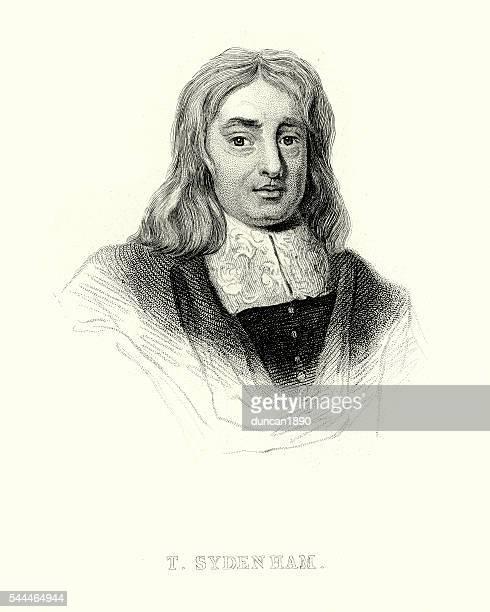 portrait of thomas sydenham - borough of lewisham stock illustrations