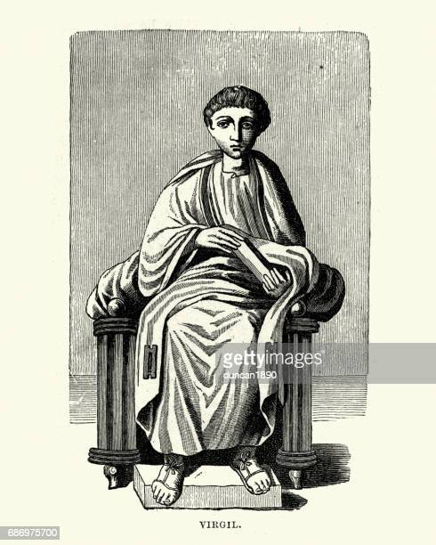 Portrait of Virgil, a Roman poet