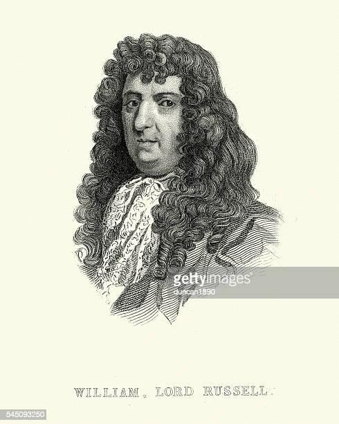 Portrait de William, lord Russell
