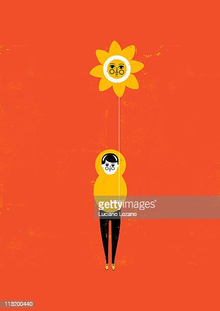 positive thinking - full length stock illustrations, clip art, cartoons, & icons