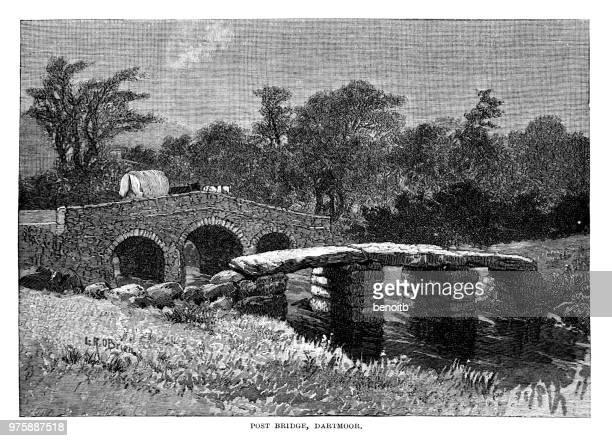 Post Bridge in Dartmoor