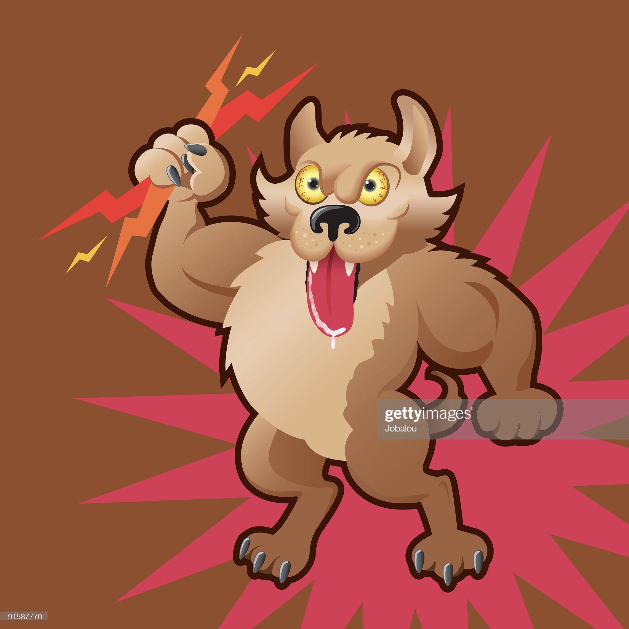Power Doggy : Stock Illustration