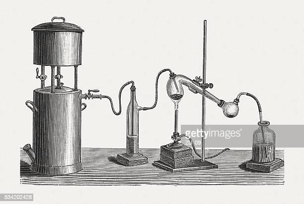 準備の水銀、木製の彫り込み、発行に 1880 ) - 水銀点のイラスト素材/クリップアート素材/マンガ素材/アイコン素材