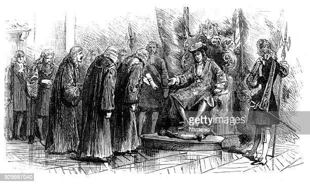 """Presentation in Oxford to William III , King of England, Ireland, and Scotland from 1689 until his death. As King of Scotland, he is known as William II, and informally known in Northern Ireland and Scotland as """"King Billy"""" ,glorious revolution"""
