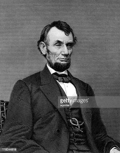 president abraham lincoln - president stock illustrations, clip art, cartoons, & icons