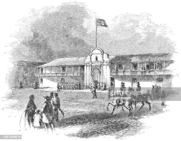Presidential Palace in San José, Costa Rica (19th Century)