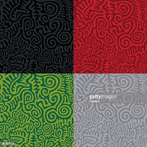 Primitive Seamless Pattern